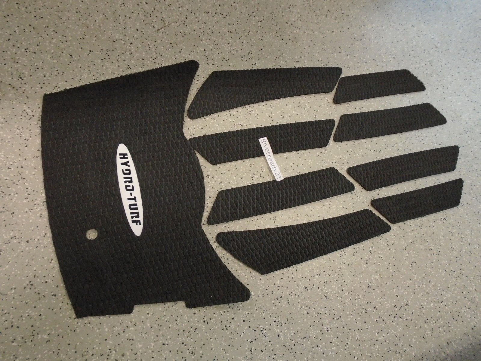 Yamaha VX110 Hydro-Turf Mat Kit Wave-Runner Black NEW HTVX In Stock RTS Blk